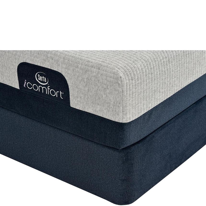 iComfort Blue 300 Twin XL Mattress w/Low Foundation by Serta  main image, 1 of 4 images.