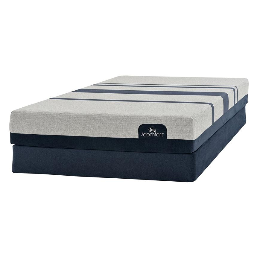 iComfort Blue 300 Queen Mattress w/Regular Foundation by Serta  alternate image, 3 of 4 images.