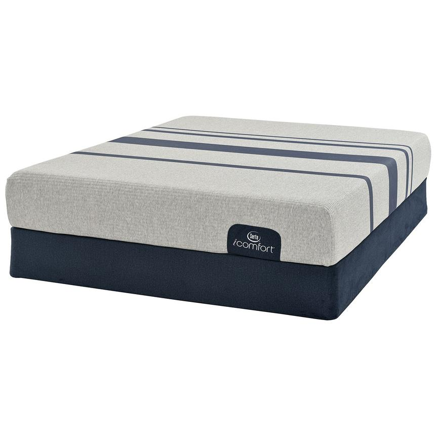 iComfort Blue 100 Full Mattress w/Low Foundation by Serta  main image, 1 of 5 images.