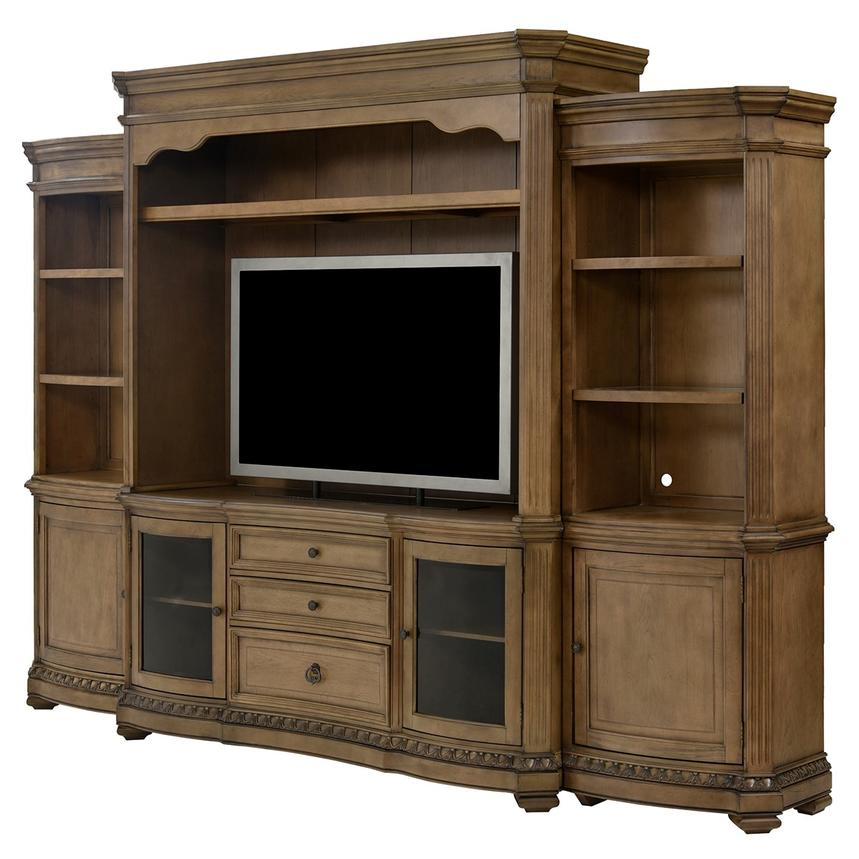 Touraine Wall Unit W/Pier Units Main Image, 1 Of 10 Images.