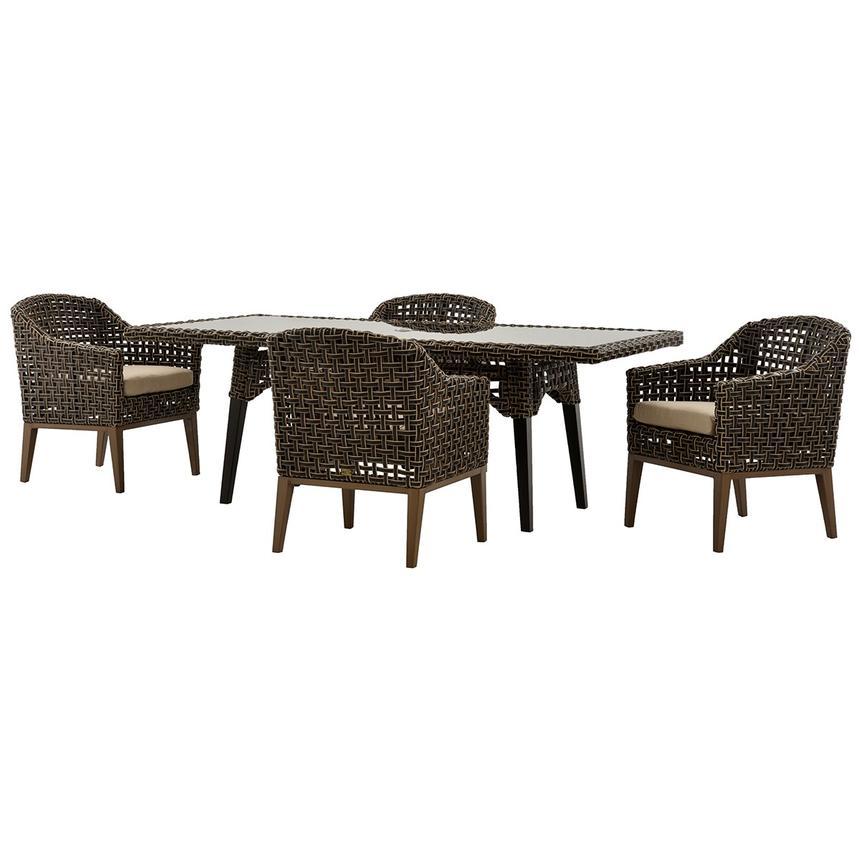Fortuna 5-Piece Patio Set main image, 1 of 12 images. - Fortuna 5-Piece Patio Set El Dorado Furniture