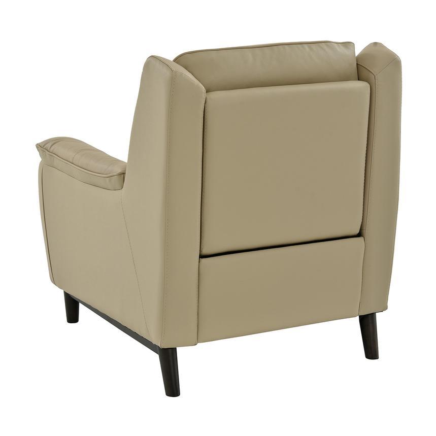 Yvette Beige Power Motion Leather Recliner alternate image 4 of 10 images.  sc 1 st  El Dorado Furniture & Yvette Beige Power Motion Leather Recliner | El Dorado Furniture