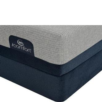 iComfort Blue Max 1000 Plush Full Mattress w/Low Foundation by Serta