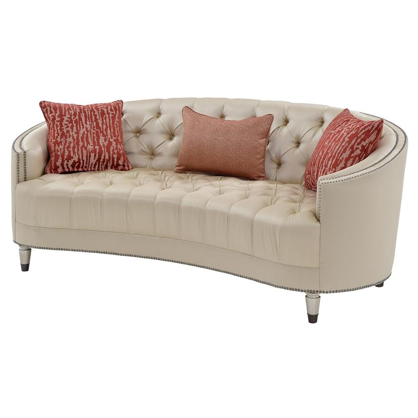 Kimberly Gold Sofa Main Image, 1 Of 6 Images.