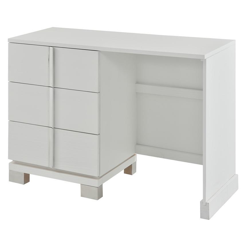Venezia White Vanity Desk Made In Brazil Main Image 1 Of 8 Images