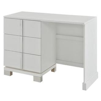 Venezia White Vanity Desk Made in Brazil