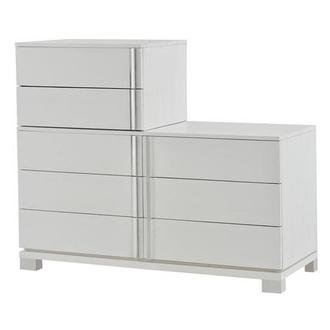 Venezia White Dresser Made in Brazil