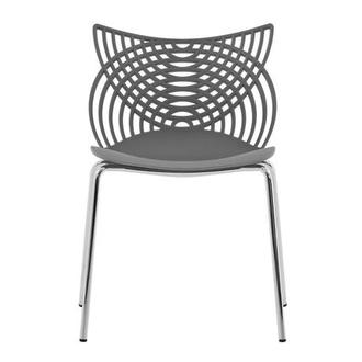 Spacen Gray Guest Chair