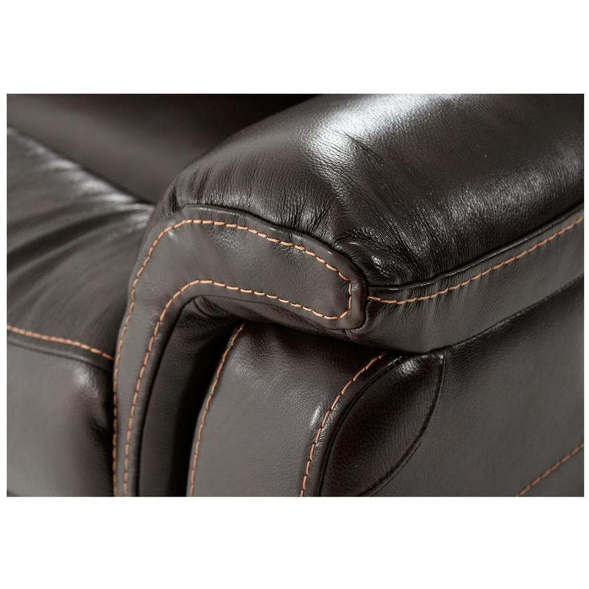 Jeremi Home Theater Leather Seating  alternate image, 6 of 9 images.