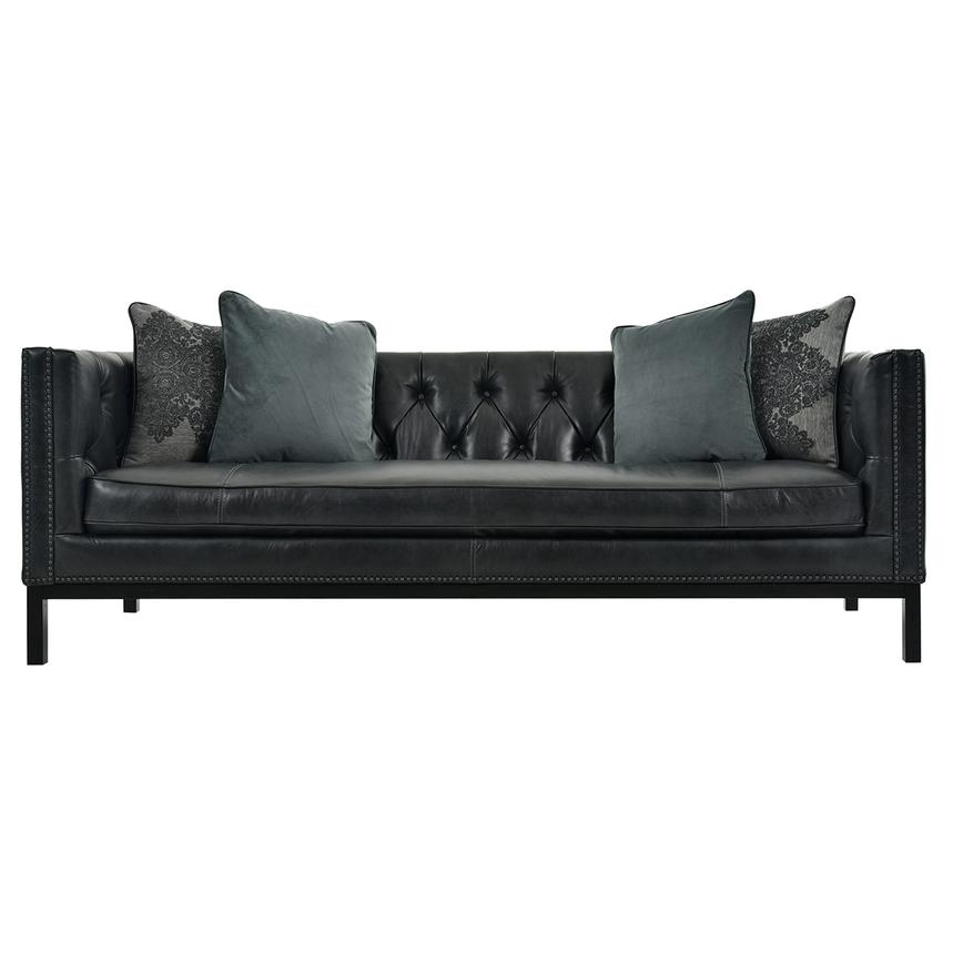 Sophia Leather Sofa Main Image, 1 Of 8 Images.