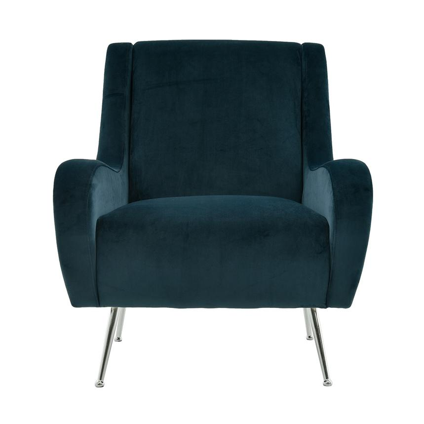 Margot Blue Accent Chair Main Image, 1 Of 7 Images.