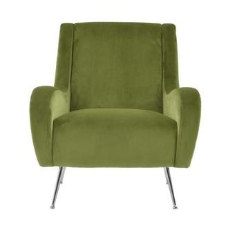 Morgan Green Accent Chair