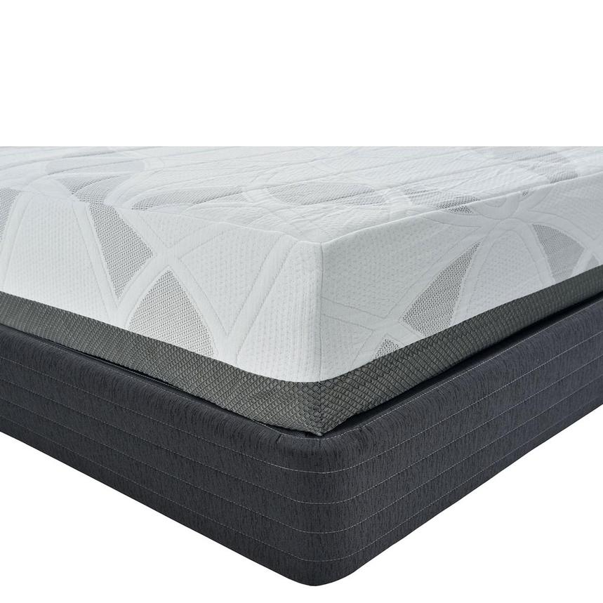 Etna King Memory Foam Mattress w/Regular Foundation by Carlo Perazzi  main image, 1 of 4 images.