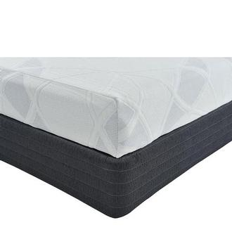 Denali King Memory Foam Mattress w/Regular Foundation by Carlo Perazzi