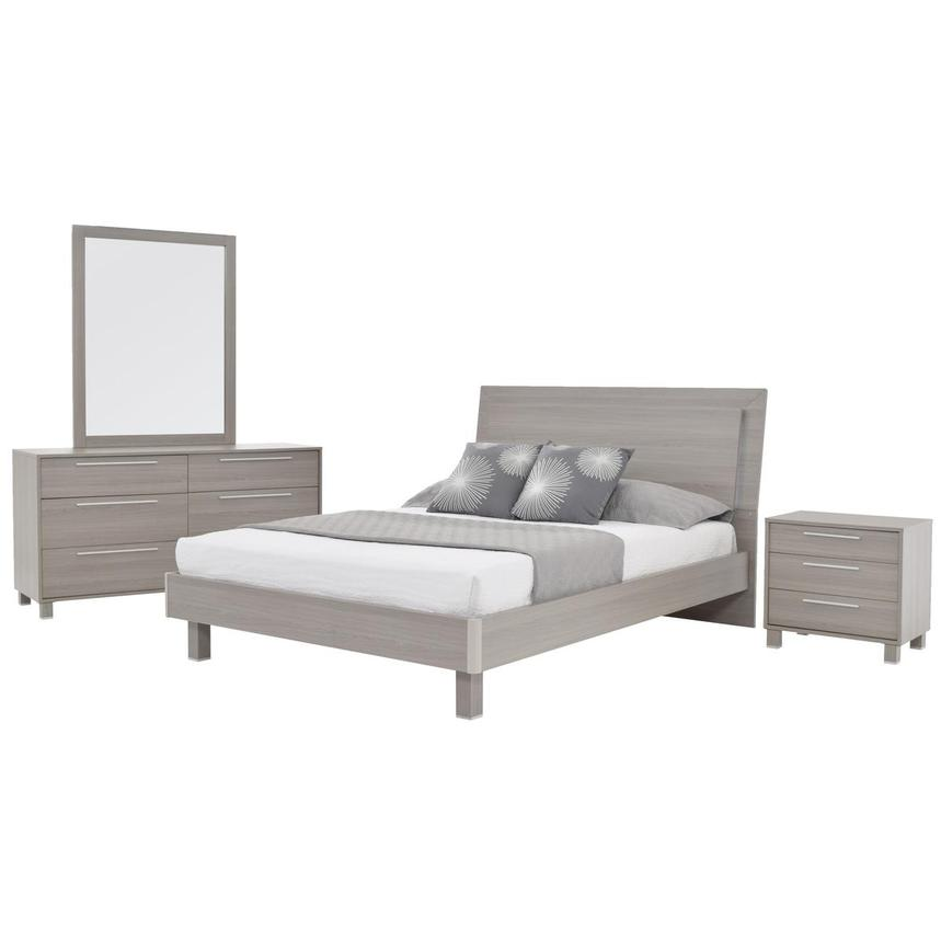 Pulse 4-Piece Queen Bedroom Set  main image, 1 of 5 images.