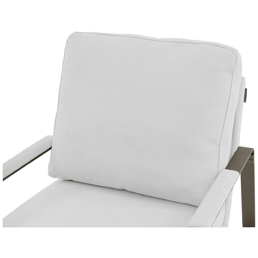 Isa White Accent Chair  alternate image, 5 of 6 images.