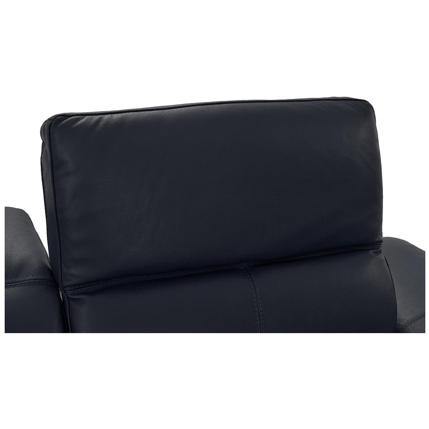 Toronto Dark Gray Power Motion Leather Sofa w/Left Chaise  alternate image, 5 of 9 images.
