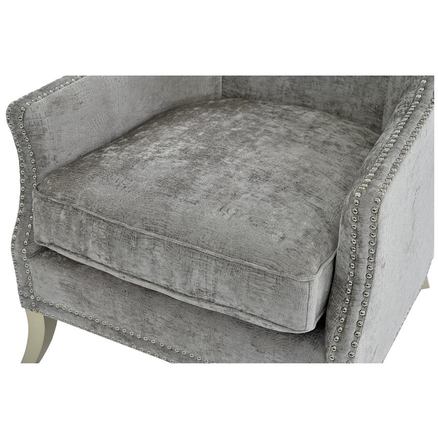 Sonia Gray Accent Chair  alternate image, 6 of 7 images.