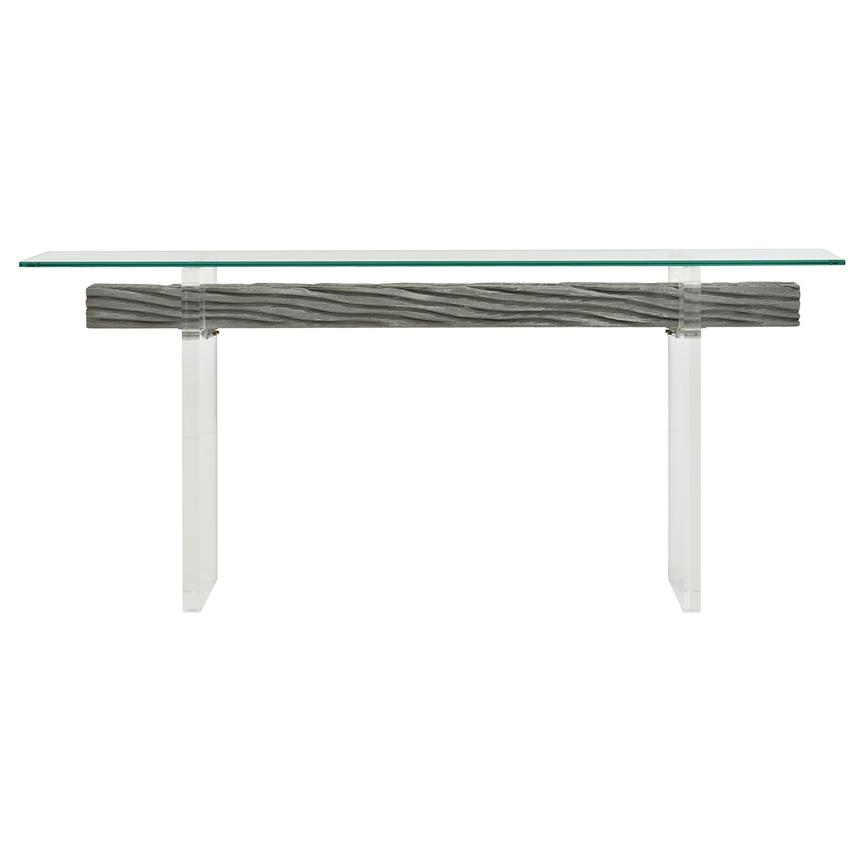 Miami Beach Gray Console Table  main image, 1 of 6 images.