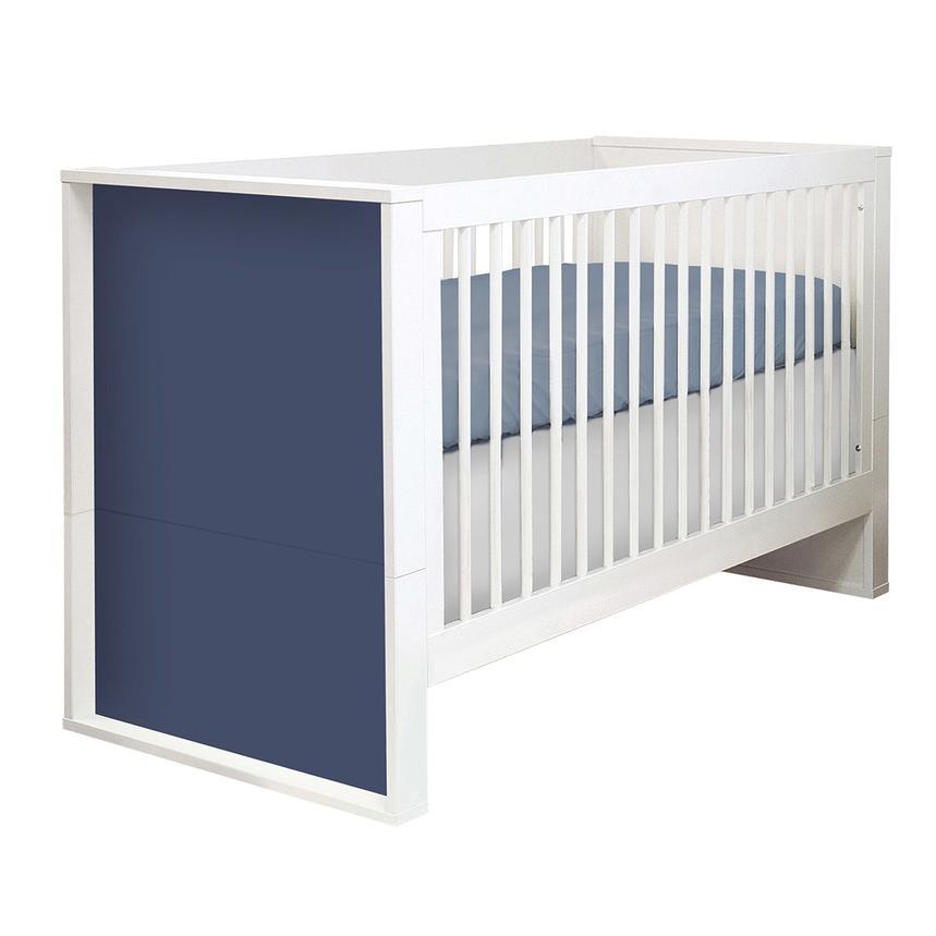 Liana Blue Crib Main Image, 1 Of 5 Images.