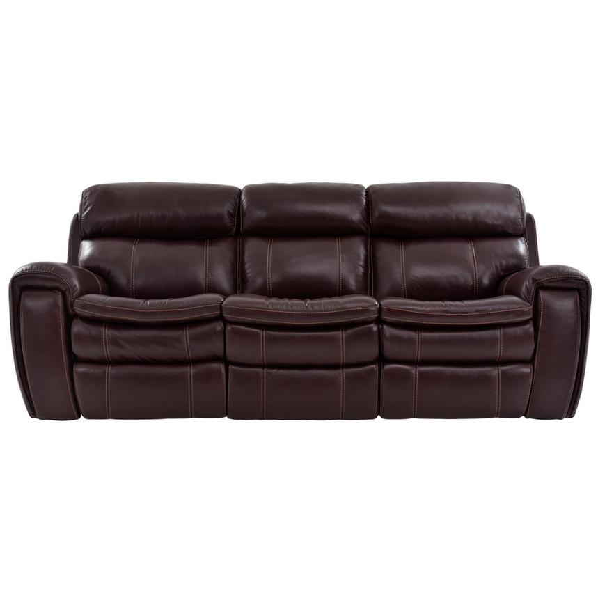 Napa Power Motion Leather Sofa  main image, 1 of 7 images.