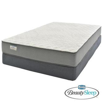 Emerald Queen Mattress w/Regular Foundation Beautysleep by Simmons