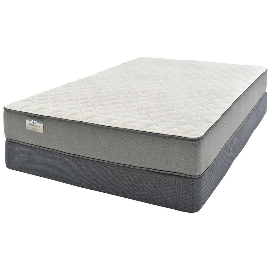 Emerald Queen Mattress w/Low Foundation Beautysleep by Simmons  alternate image, 2 of 4 images.