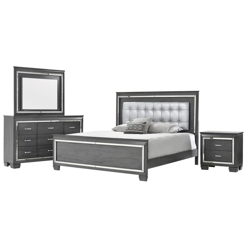 Jamie 4 Piece King Bedroom Set Main Image 1 Of 6 Images