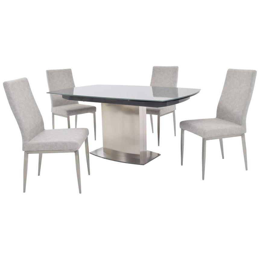 Mavis 5-Piece Formal Dining Set  main image, 1 of 15 images.