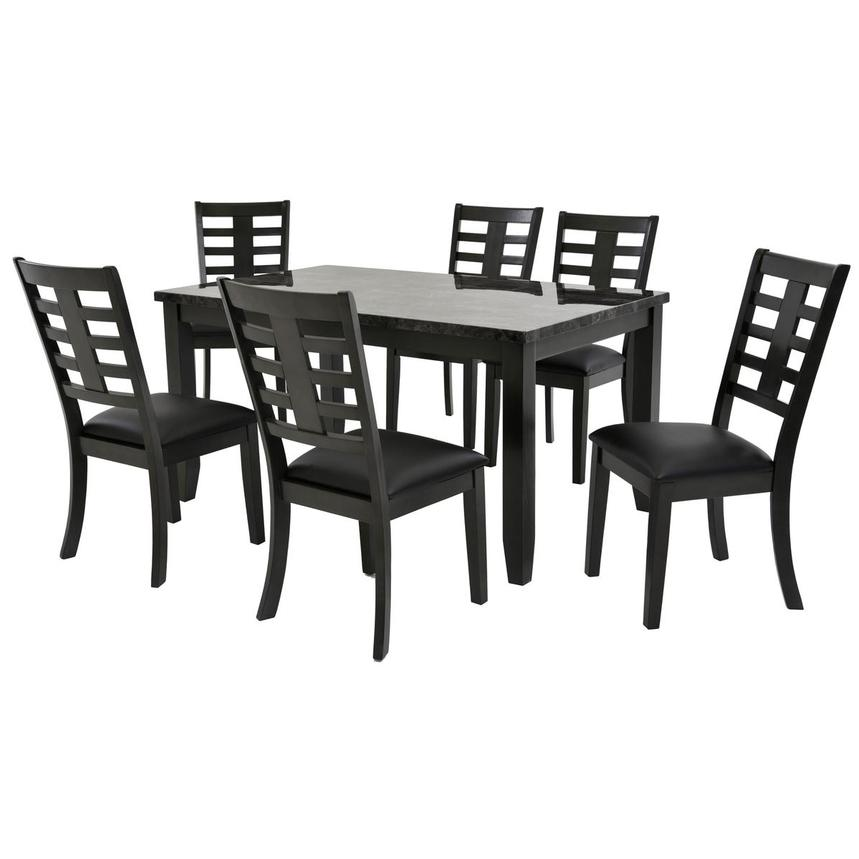 Canaan 7 Piece Casual Dining Set By Set Only Main Image, 1 Of 11