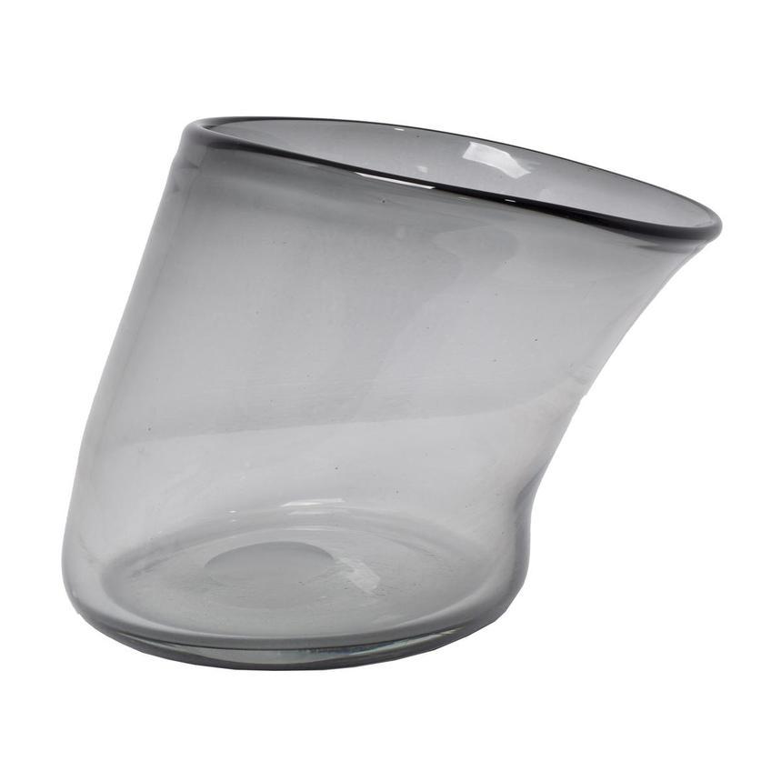 Grigio Glass Vase El Dorado Furniture