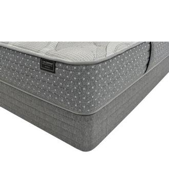 Bianca King Mattress w/Low Foundation by Carlo Perazzi