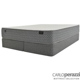 Merano HB King Mattress w/Low Foundation by Carlo Perazzi