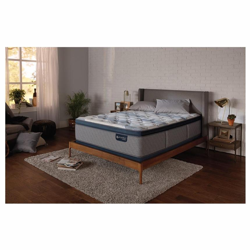 Fusion 300 PT King Mattress w/Low Foundation by Serta  alternate image, 2 of 5 images.