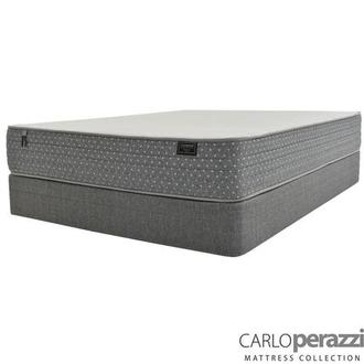 Merano HB Twin Mattress w/Regular Foundation by Carlo Perazzi