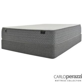 ST. Moritz HB Twin XL Mattress w/Low Foundation by Carlo Perazzi