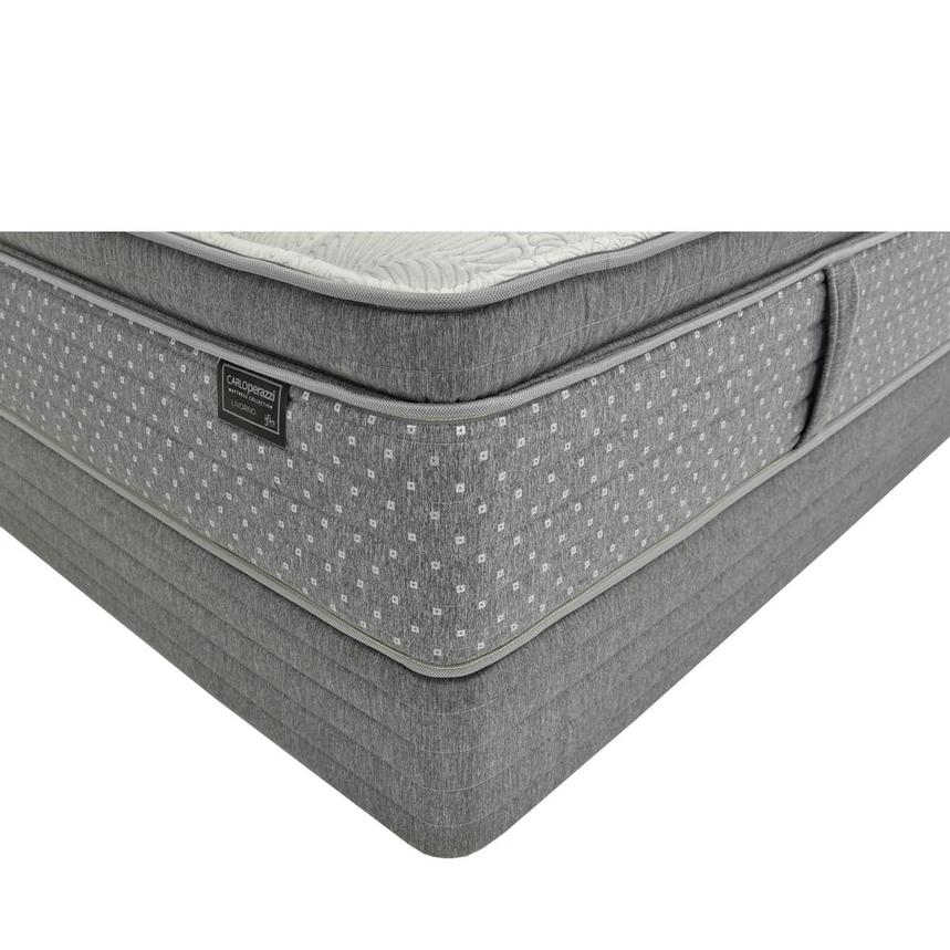 Livorno iFlex Queen Mattress w/Low Foundation by Carlo Perazzi  main image, 1 of 4 images.