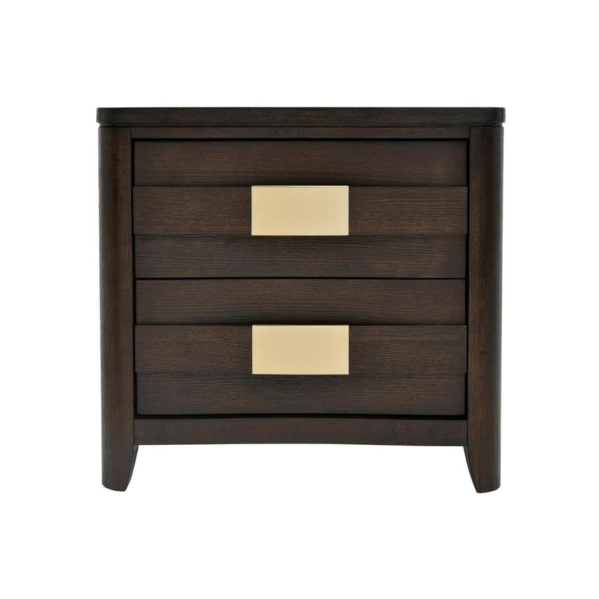 Contour Brown Nightstand  main image, 1 of 7 images.