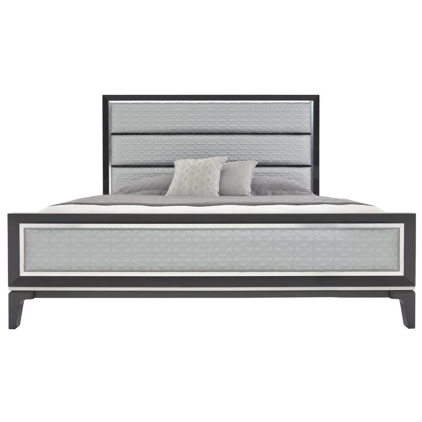 Chelsea Gray Queen Panel Bed  main image, 1 of 6 images.