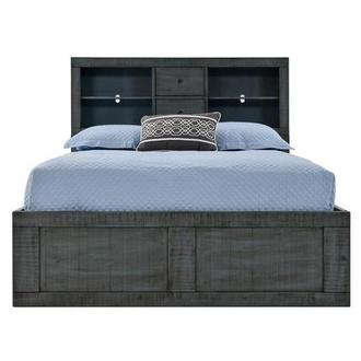 Blue Ridge Full Bookcase Bed