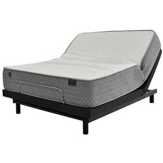 Merano HB King Mattress w/Essentials III Powered Base by Serta