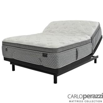 Livorno iFlex Queen Mattress w/Essentials III Powered Base by Serta
