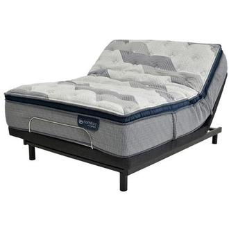 Fusion 300 PT King Mattress w/Essentials III Powered Base by Serta