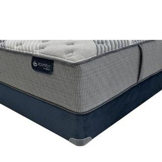 Fusion 1000 Queen Mattress w/Low Foundation by Serta