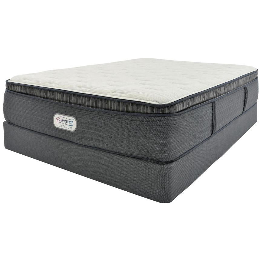 Beacon Hill PT Queen Mattress w/Regular Foundation by Simmons Beautyrest Platinum  main image, 1 of 4 images.