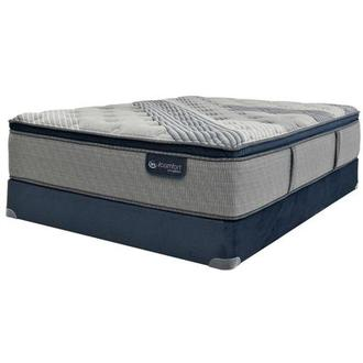 Fusion 1000 PT Full Mattress w/Regular Foundation by Serta