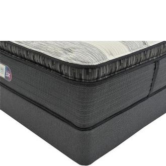 Clover Spring PT Twin XL Mattress w/Low Foundation by Simmons Beautyrest Platinum