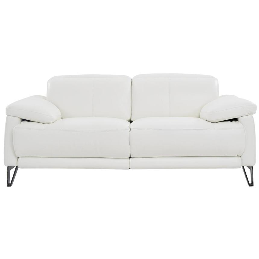 Shelley Power Motion Leather Loveseat  main image, 1 of 7 images.