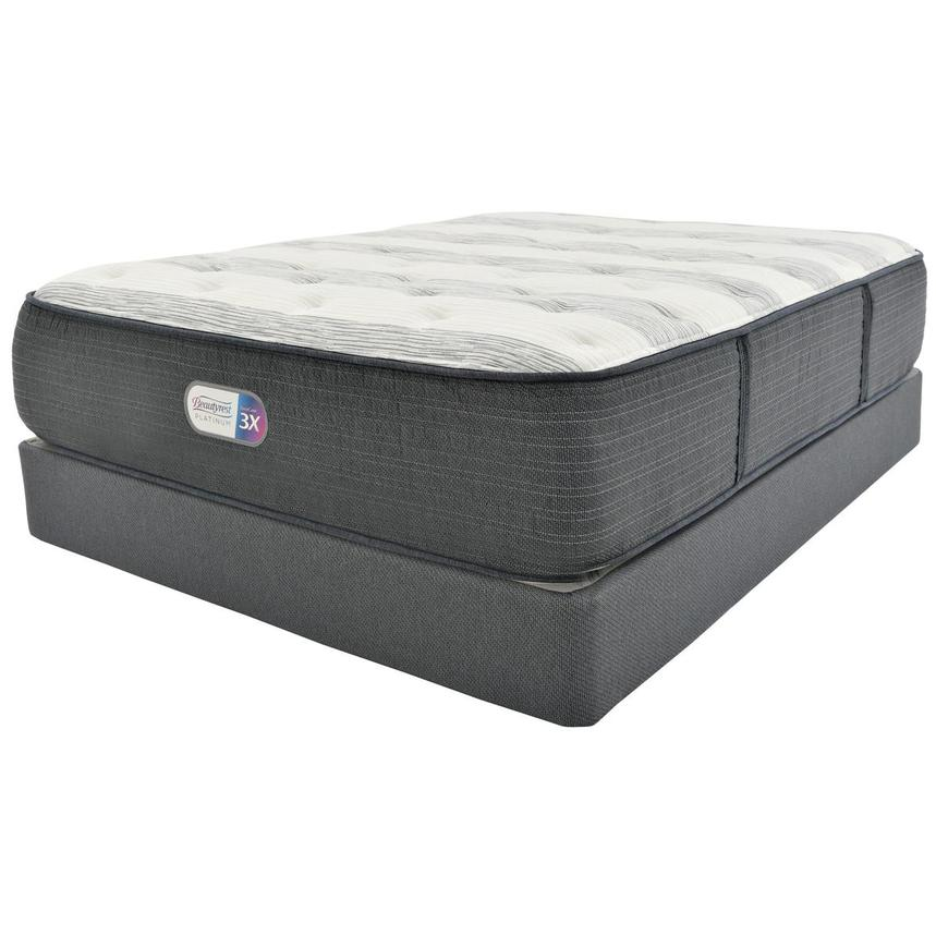 Clover Spring Full Mattress w/Low Foundation by Simmons Beautyrest Platinum  main image, 1 of 5 images.