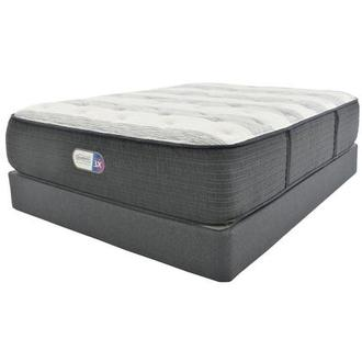 Clover Spring Twin XL Mattress w/Regular Foundation by Simmons Beautyrest Platinum